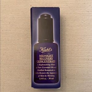 NIB Kiehl's midnight recovery concentrate 1 oz